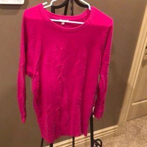 Fun, hot pink sweater